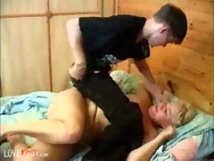 time to wake up granny, granny blond older sex