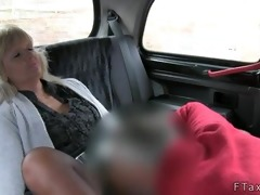 golden-haired mature wet crack licked and drilled