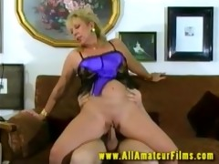 pierced blonde mother i love tunnel screwed