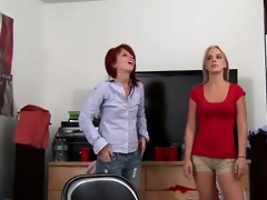 youthful ambisextrous angels gag penis