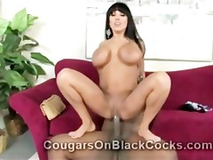 insane cougar sienna west has no problems taking