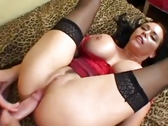 pale enormous chested mother i receives her anal
