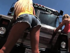 la d like to fuck truck trailer