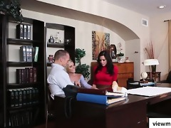 super hawt nadia noir helps in counseling aged