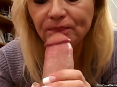 sexually excited blond mother i