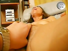 bushy d like to fuck plays with her butt