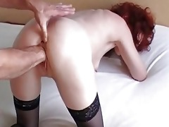 fist fucking my wifes loose wet crack