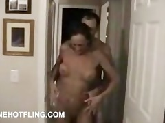 older with fake titties drilled