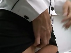 sexy blond cougar likes a-hole fucking