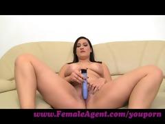 femaleagent. ultimate casting big o for shy woman
