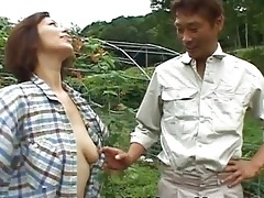 chisato shouda oriental older hottie receives