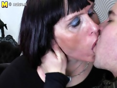 older plump mother screwed by her toyboy