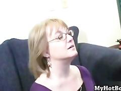 grannie molly adams is a blond secretary whos w