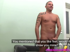 femaleagent d like to fuck indulges chap in his