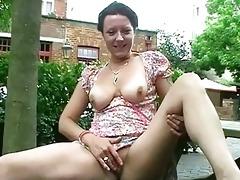 public masturbation of older shaz