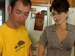 kitchen sex for lewd milf