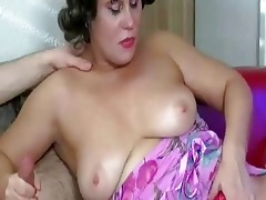 mature granny receives fucked by you...