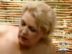 blonde german mother with tits fucking
