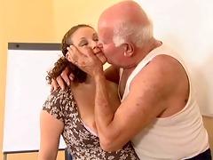 old man mireck and preggo bitch
