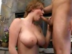 admirable breasty milf copulates chap