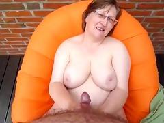 granny acquire goo in her body