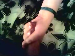 the wife giving hand job