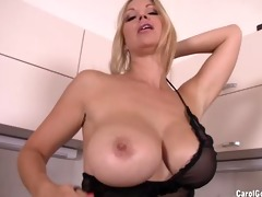 carol goldnerova kitchen striptease