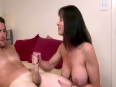 breasty mature mother i cook jerking and tit
