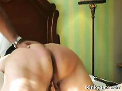 spanking large wazoo of sub mother i christina