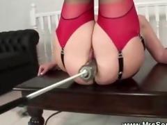 older enjoying sex machine