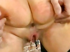 scared looking milf villein with nice boobs