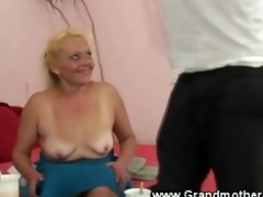 hawt granny can engulfing younger pecker