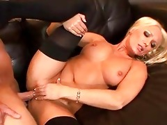 diana doll is a blond milf with large breasts and