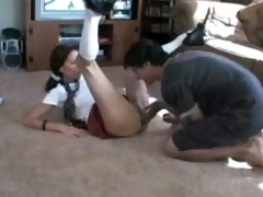 late for class so she is can not receive drilled