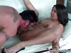 very valuable latin chick mother i with sexy butt