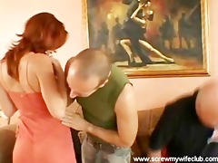 hubby watched wife screwed by 5 hard rods