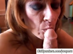 hot mature honey mikela loves facial cumshots