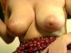 breasty aged russian riding knob