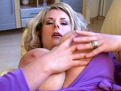 outstanding large tits mother i at home