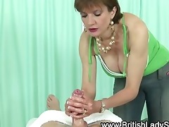 older stocking brit sonia fleshlight cook jerking