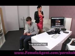 femaleagent. shy chap copulates like a demon