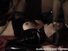 0 boys sharing sex slave at home