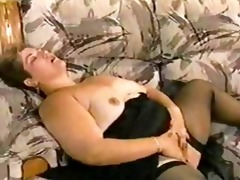 big beautiful woman in daybed