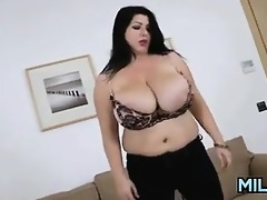 thick milf with large breasts