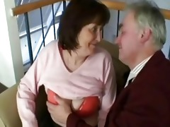 old grandfather fuck this lewd granny bitch