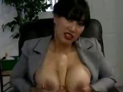 large breasted honeys teasing with a