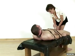 mistress ruling over a ramrod