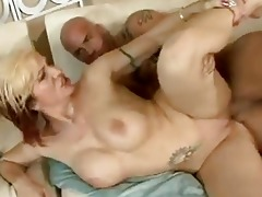 pretty momma brittany blaze acquires a sticky cum