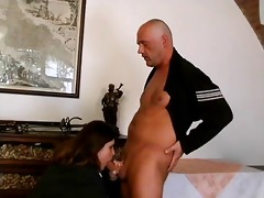 fat brunette hair older lady likes engulfing part7