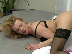 love creampie aged lustful headmistress in nylons